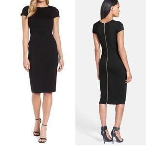 Felicity & Coco Seamed Pencil Dress
